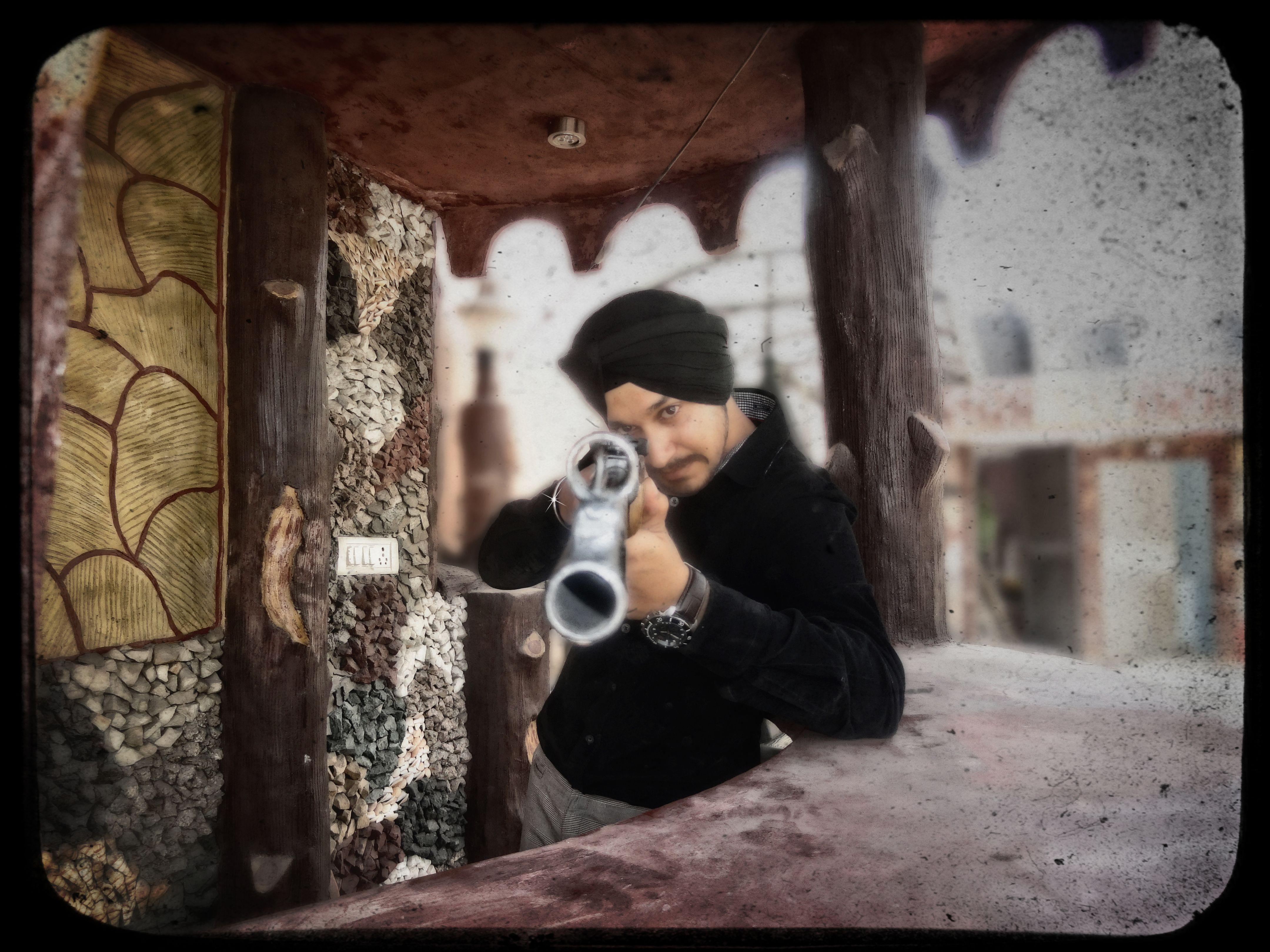 Desi Jatt and his Gun   | Photos | Couple photos, Couples, Desi