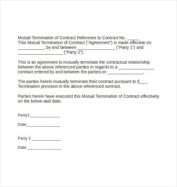 letter addition contract termination besides sales sale agreement - termination of contract letter