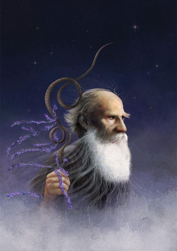 Pop Art: Tolstoy Sleepwalking in the Clouds