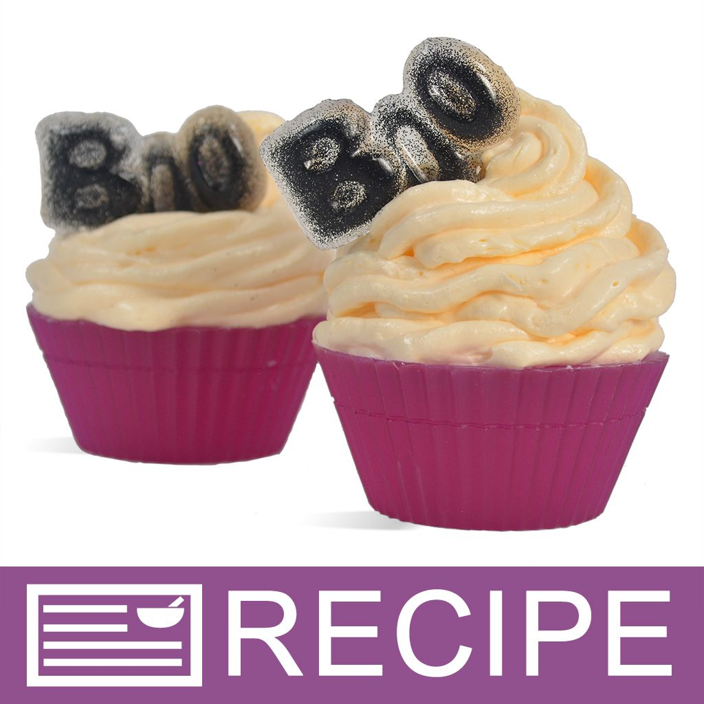 PRINT: Halloween Boo MP Soap Cupcakes - Wholesale Supplies