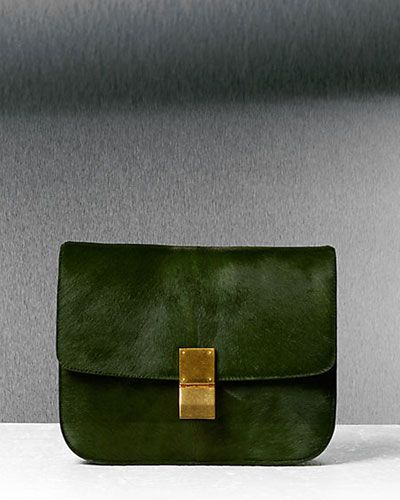 3be5edf0401d Natural Calfskin Medium Box bag by Celine.