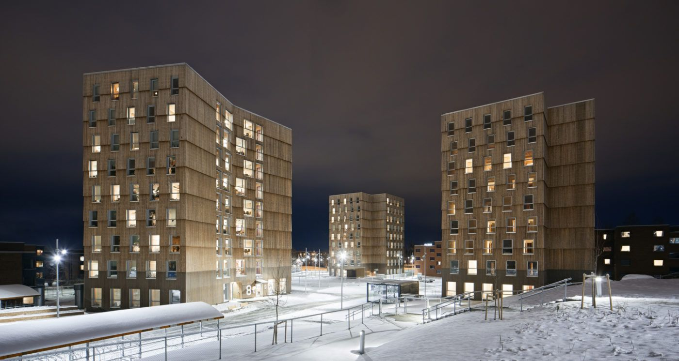 Moholt Timber Towers – MDH Arkitekter