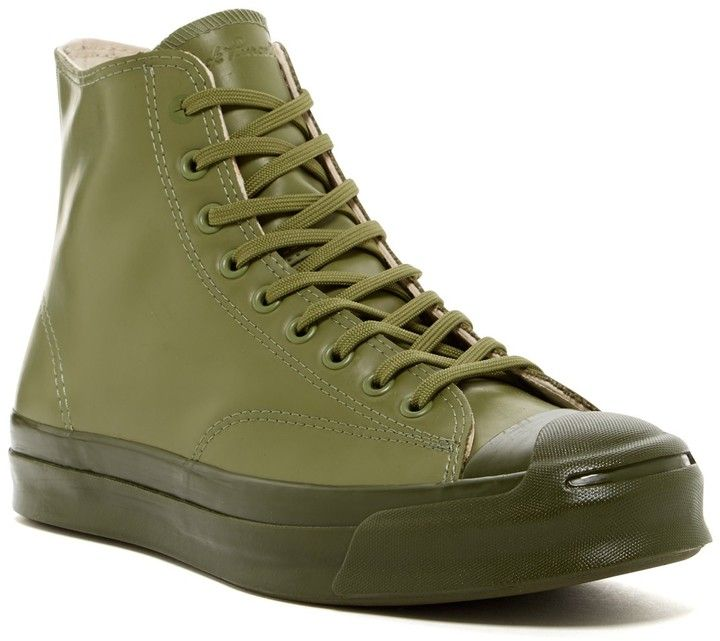 Converse Jack Purcell(R) High-Top Rubber Sneaker (Men) 3bJEgbwuF