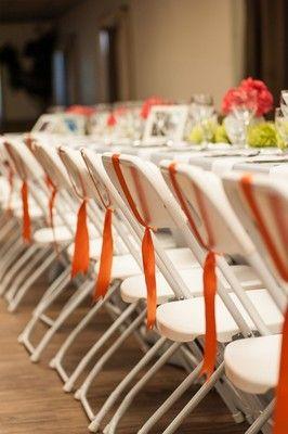 Decorate Folding Chairs Weddings Do It Yourself Wedding