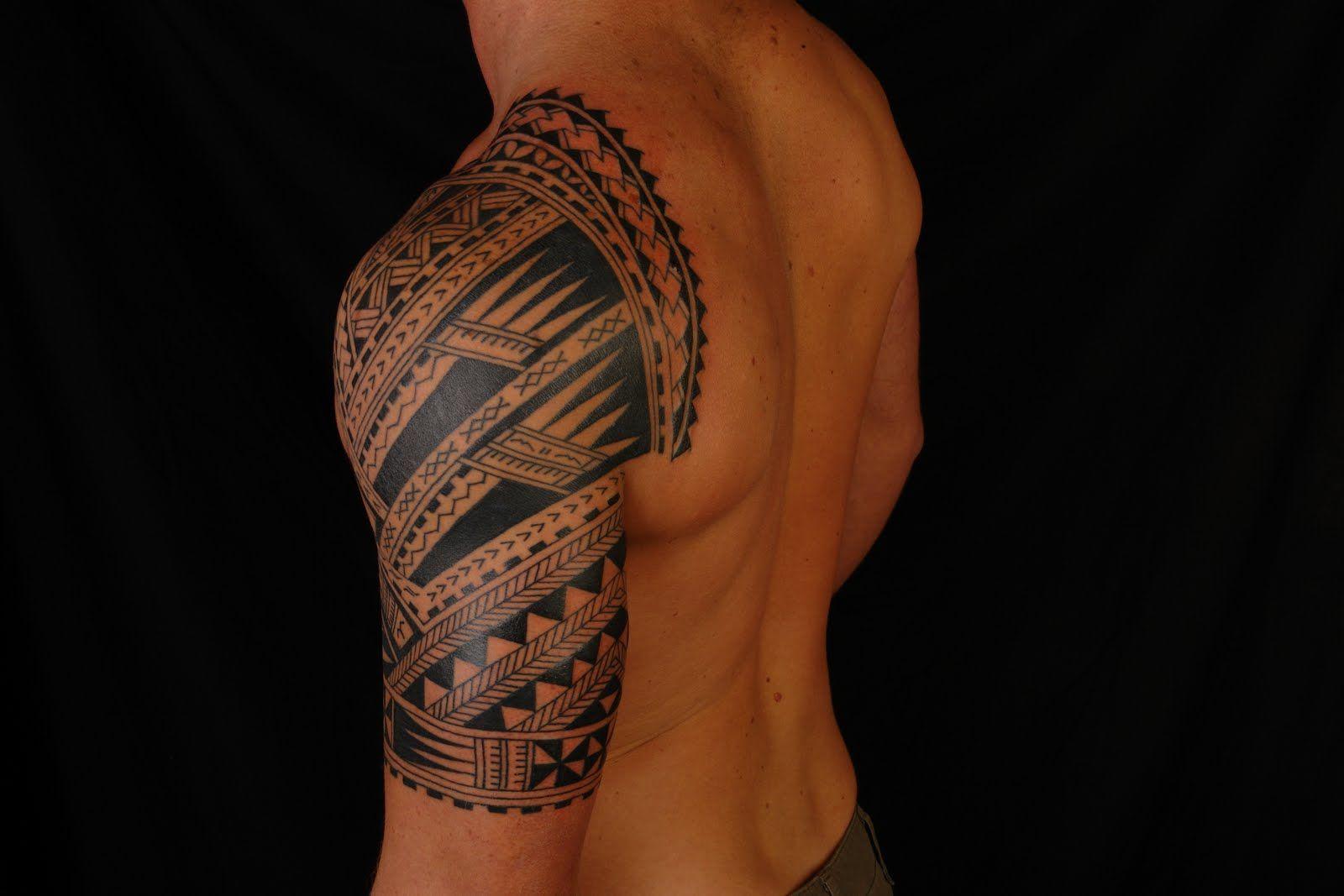 Shane Tattoos Polynesian Half Sleeve On Codie Half Sleeve Tribal Tattoos Half Sleeve Tattoos For Guys Half Sleeve Tattoo