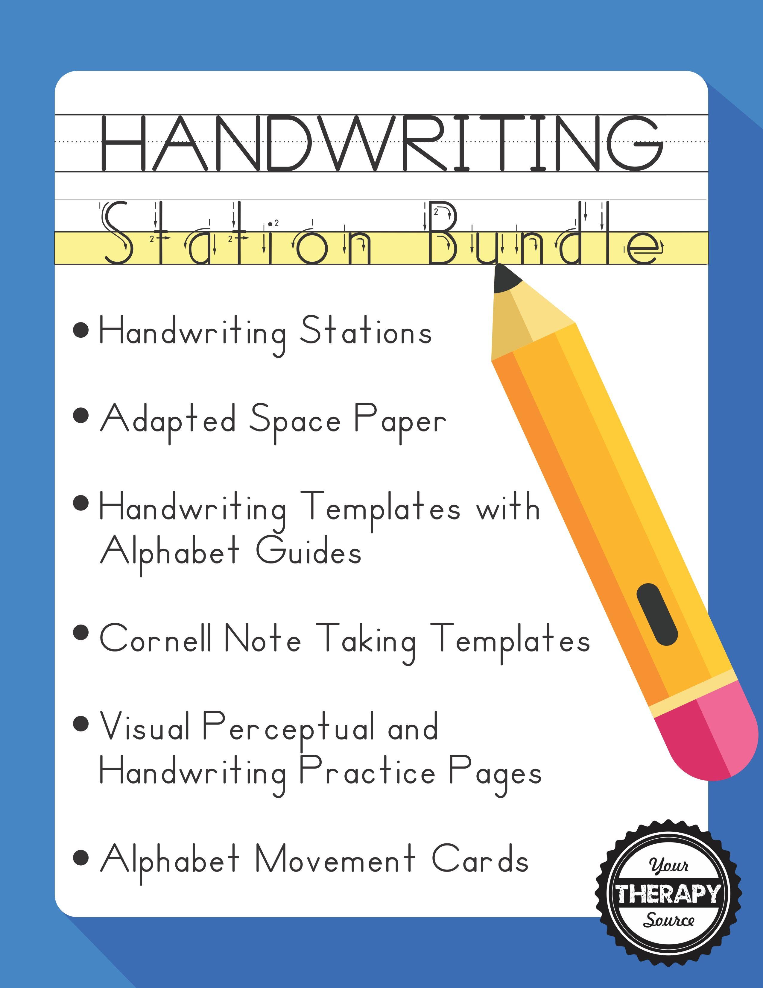 Handwriting Station Bundle