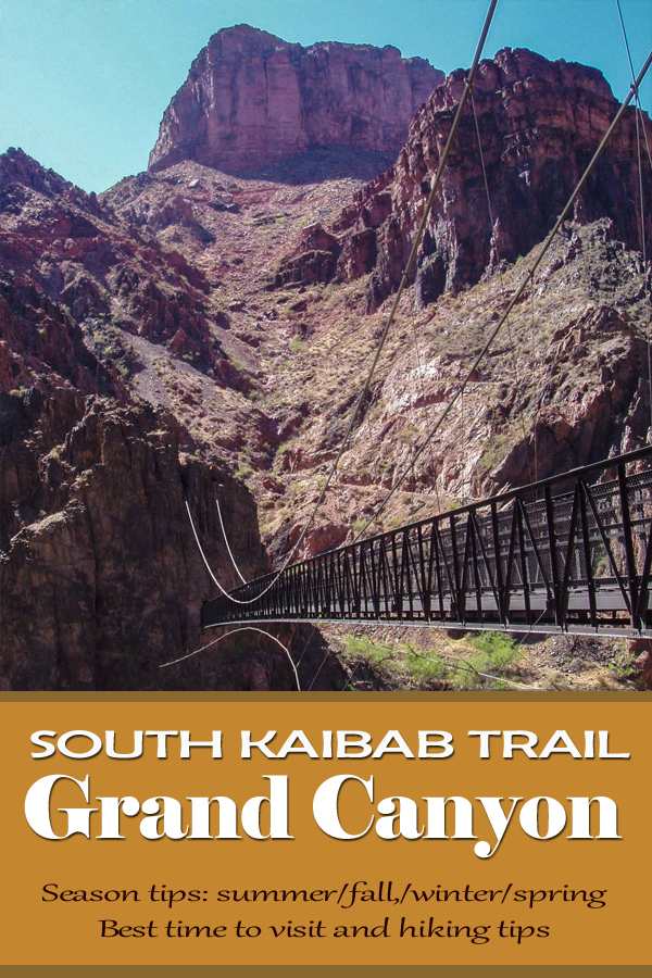 South Kaibab Trail Grand Canyon Best Time To Visit Best