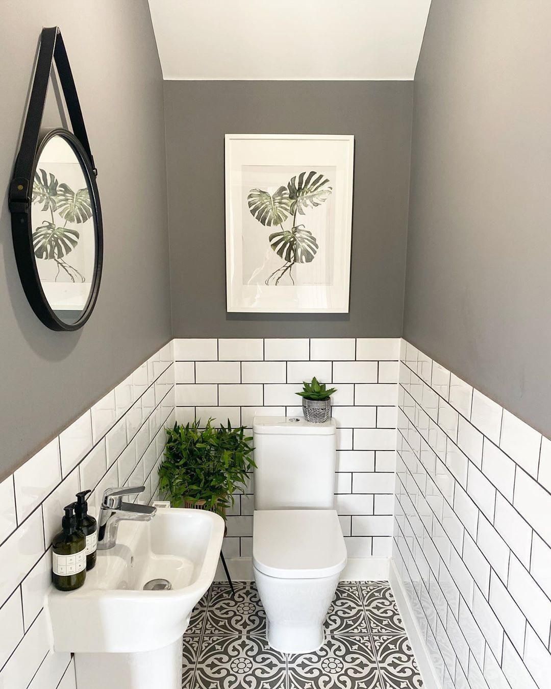Laura On Instagram Well This Is My First Week Of Solo Parenting Since The Lockdown In 2020 Inexpensive Bathroom Remodel Downstairs Toilet Small Bathroom Makeover