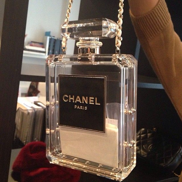 69ca0d70013 Still cannot believe a Perspex and glass Chanel bag costs £6