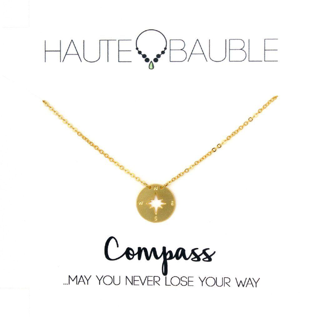 Haute Bauble Compass Pendant