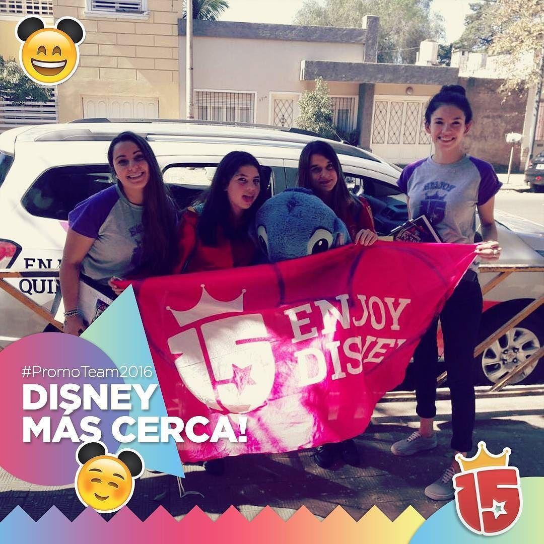 Poquito a poquito las chicas de Mercedarias #Cordoba se acercan a #Disney! #promoTeam2016 #enjoy15