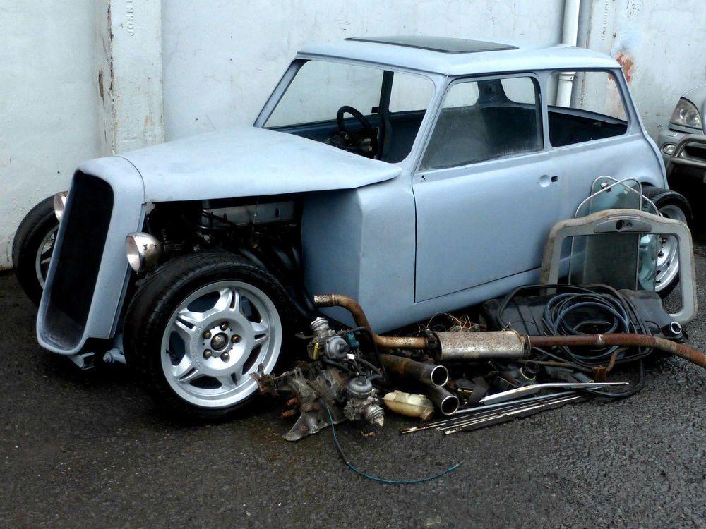 Mini V8 Rover Hotrod Minis Mini Copper Mini Clubman Small Cars