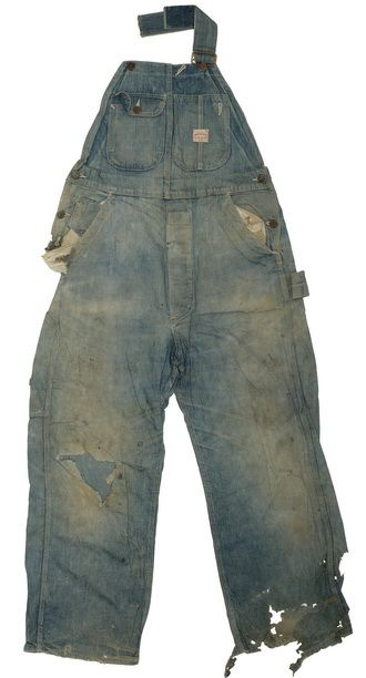 26f5ce82 Super Big Mac Overall c.1930's | Vintage Cow | Vintage denim ...