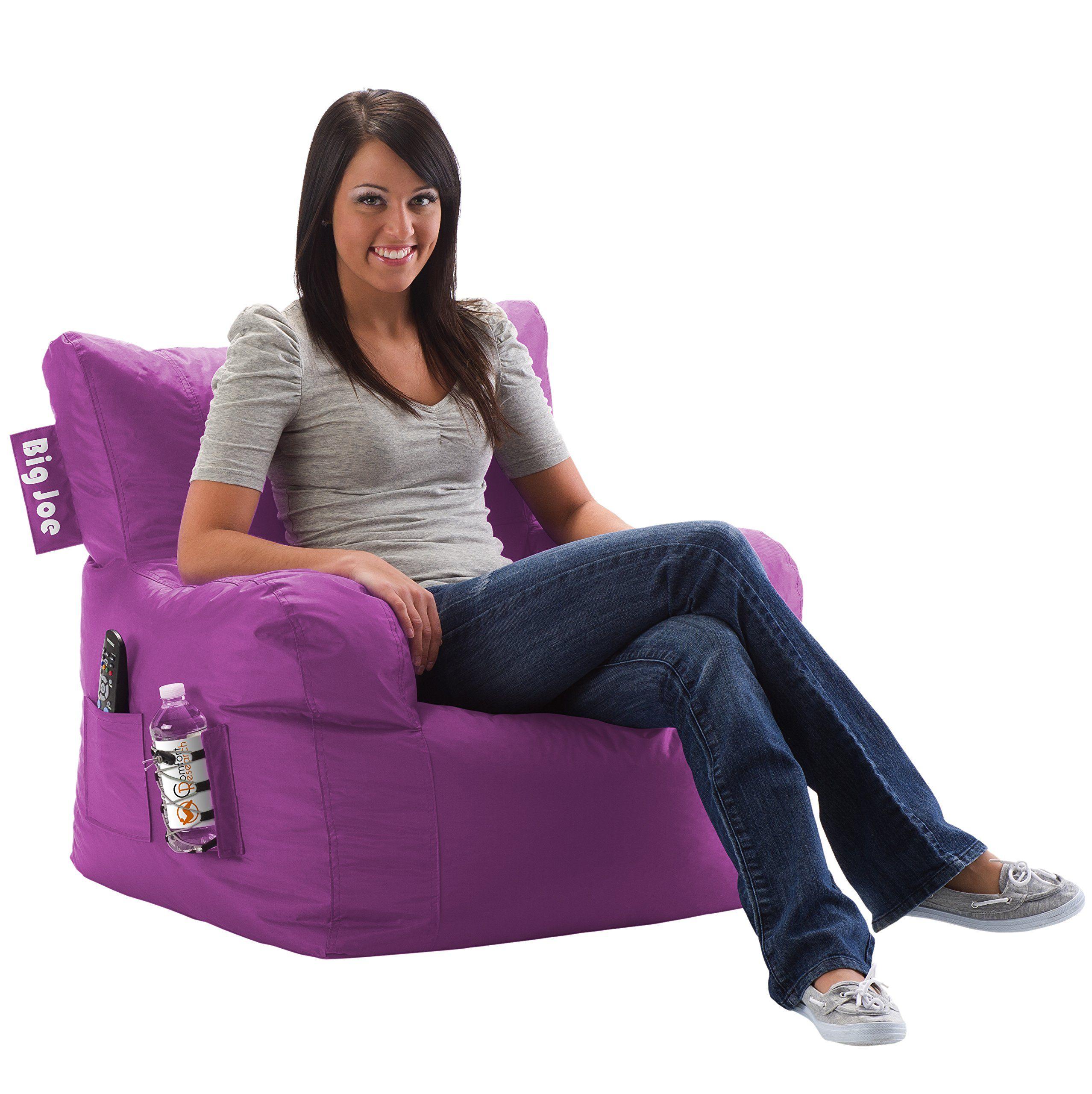 Big Joe Dorm Chair, Radiant Orchid Home