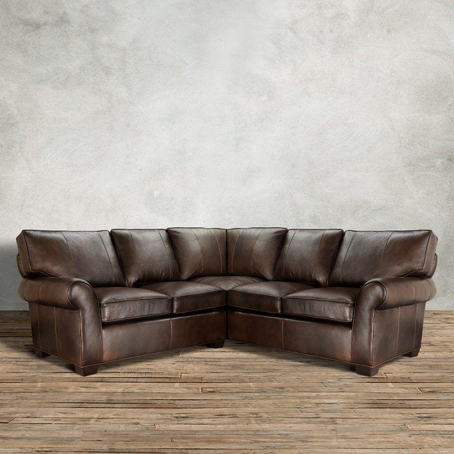Arhaus Hadley Leather Sofa