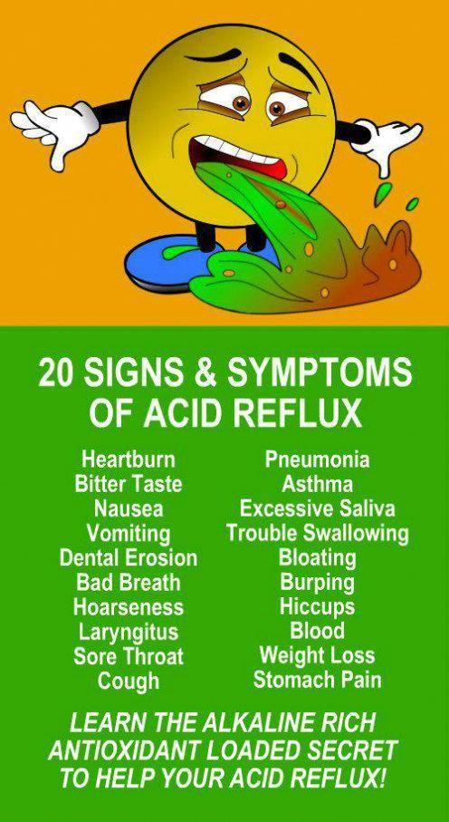 how to reduce acid reflux symptoms