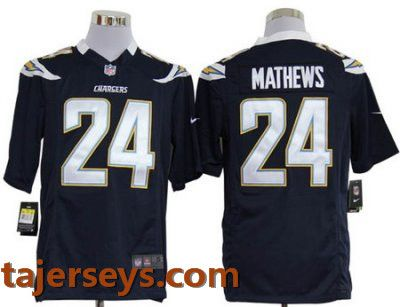Nike San Diego Chargers 24  Ryan Mathews Dark Blue Game LIMITED NFL jersey  Price  22 d4cd2741b