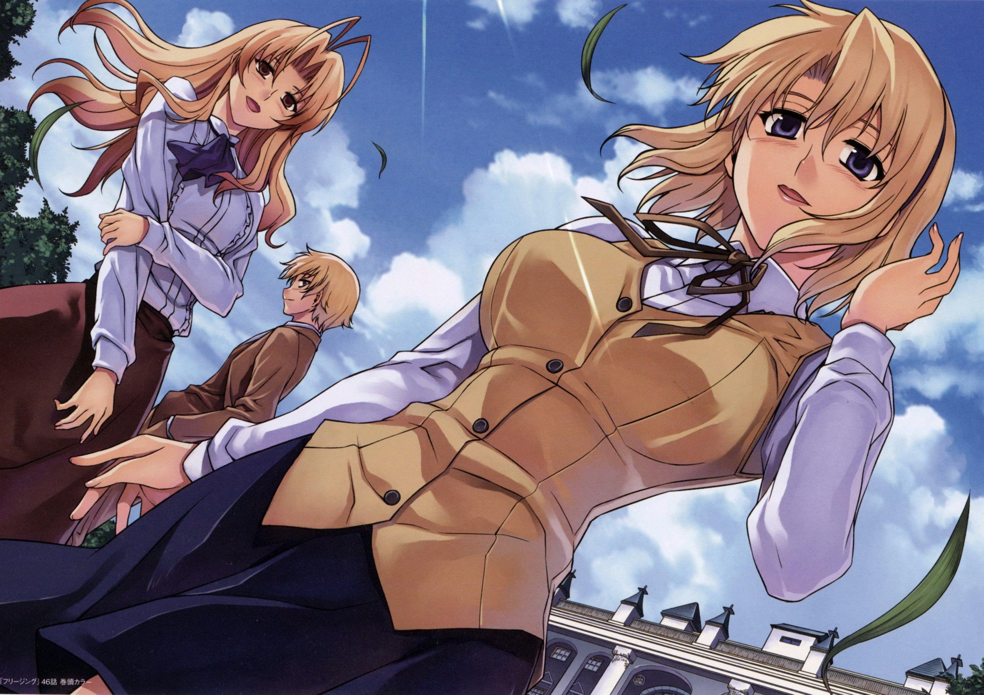 Freezing Free For Desktop Anime Anime Wallpaper Freezing Anime Freezing anime desktop wallpaper
