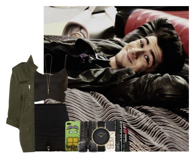 """""""Sans titre #489"""" by faanfic-1d ❤ liked on Polyvore featuring Topshop, River Island, Wet Seal, Jeffrey Campbell, NARS Cosmetics, Skagen, Forever 21, Maria Black and Maiyet"""
