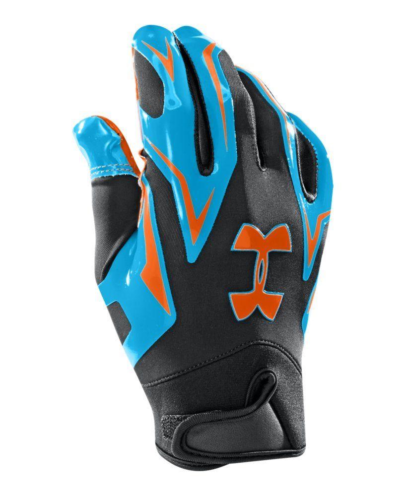 6bd6a2da34bb2 Amazon.com : Under Armour Men's UA F4 Football Gloves : Sports ...