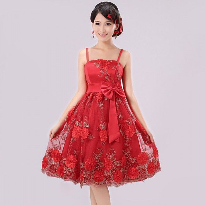 chinese traditional wedding dress - Would make a pretty homecoming ...
