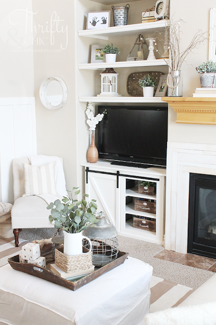 living room built in decorating ideas selecting paint colors for diy shelves and update home farmhouse decor fixer upper style