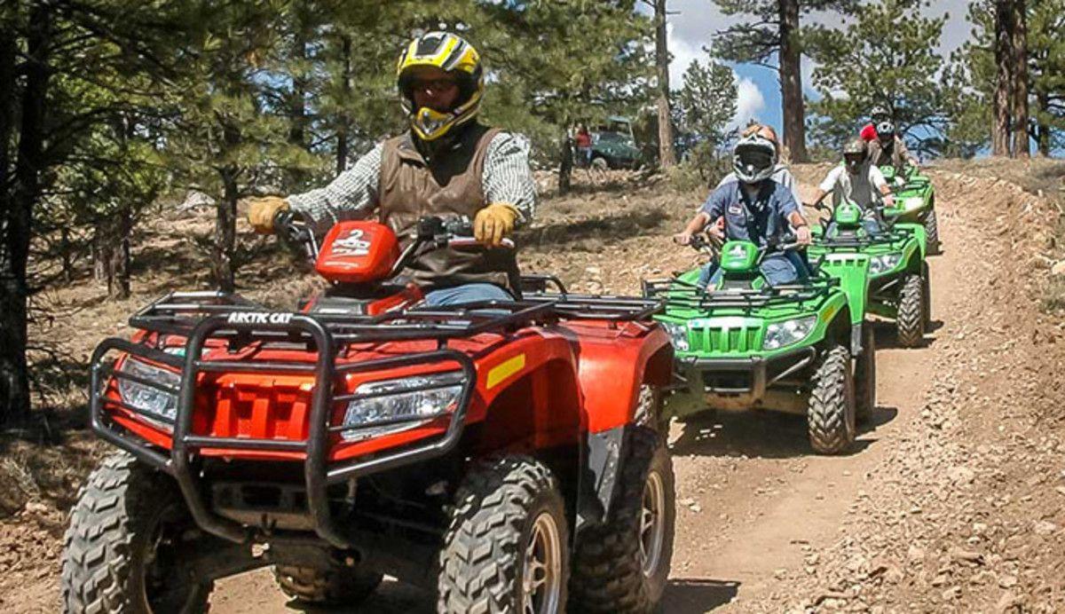 Horseback atv bike rentals and scenic flights near bryce