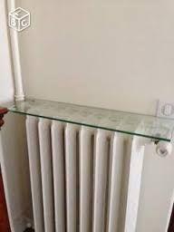 tablette de radiateur en verre