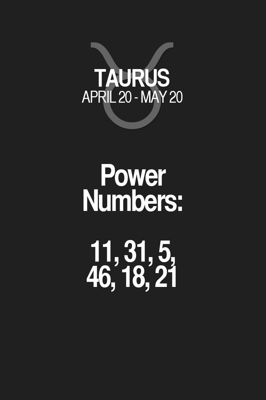 Power Numbers: 11, 31, 5, 46, 18, 21. Taurus | Taurus Quotes | Taurus Horoscope | Taurus Zodiac Signs