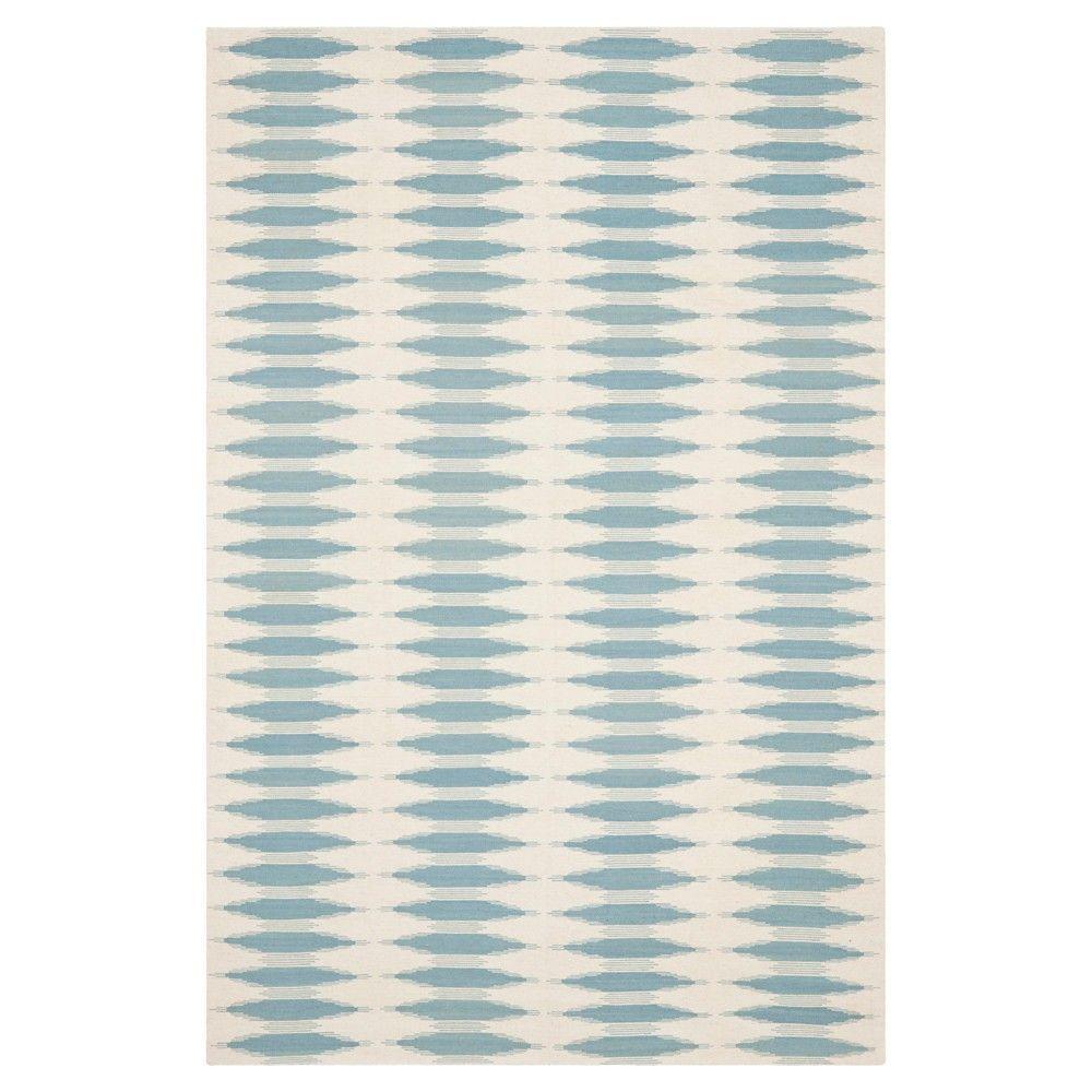 Navajo Kilim Rug - Ivory/Blue - (8'x10') - Safavieh