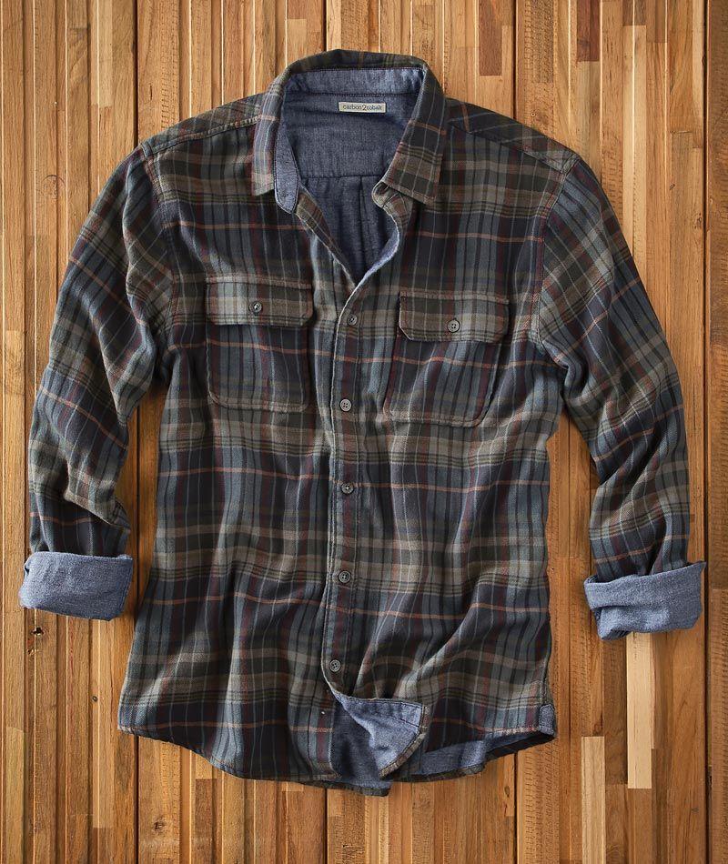 Heritage Check Flannel Shirt | Banana Republic | Mens