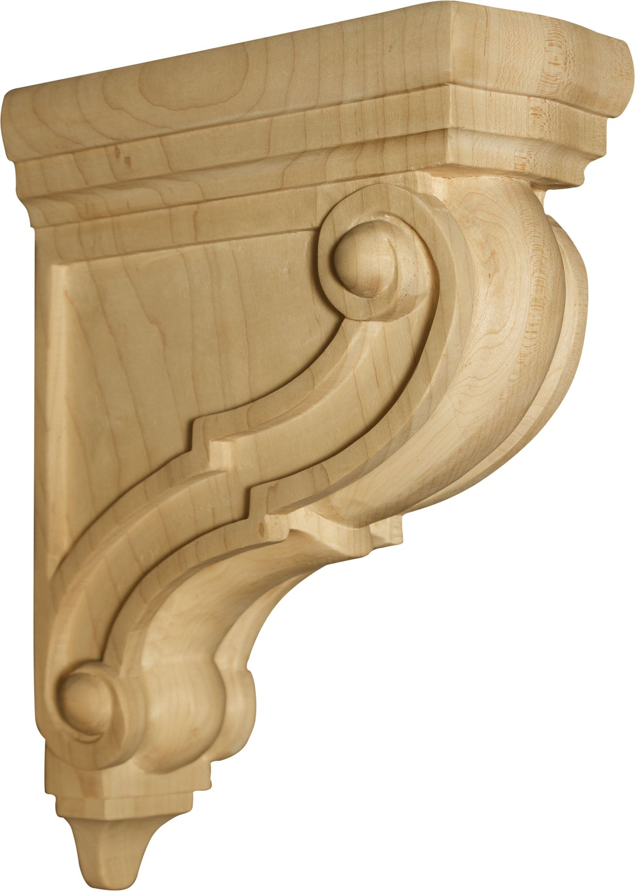 decorative wood corbels and brackets: solid, decorative wooden