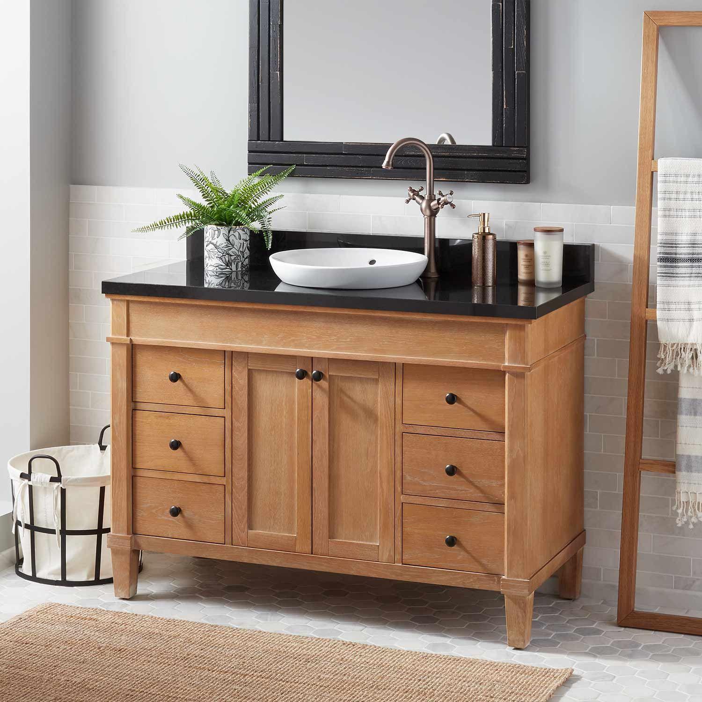 48 Marilla Vanity For Semi Recessed Sink Bathroom Vanities