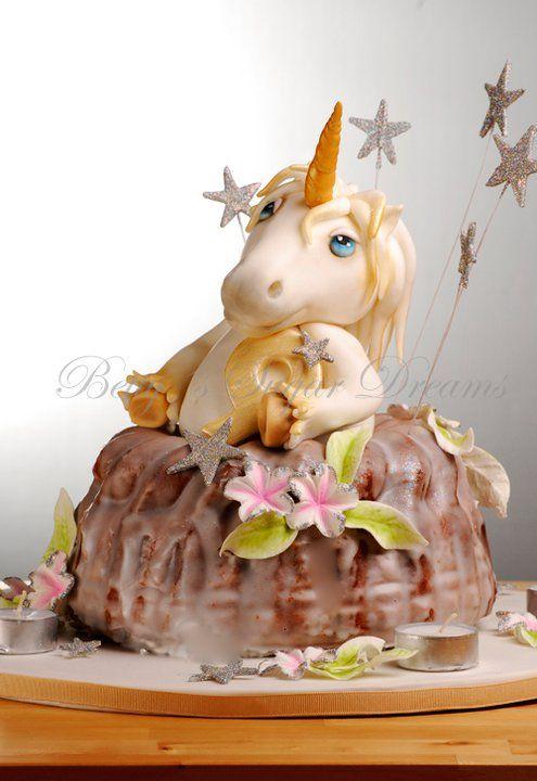 Unicorn Bundt Cake Too Cute Birthday Cake For Kids Horse  Pony - Bundt birthday cake