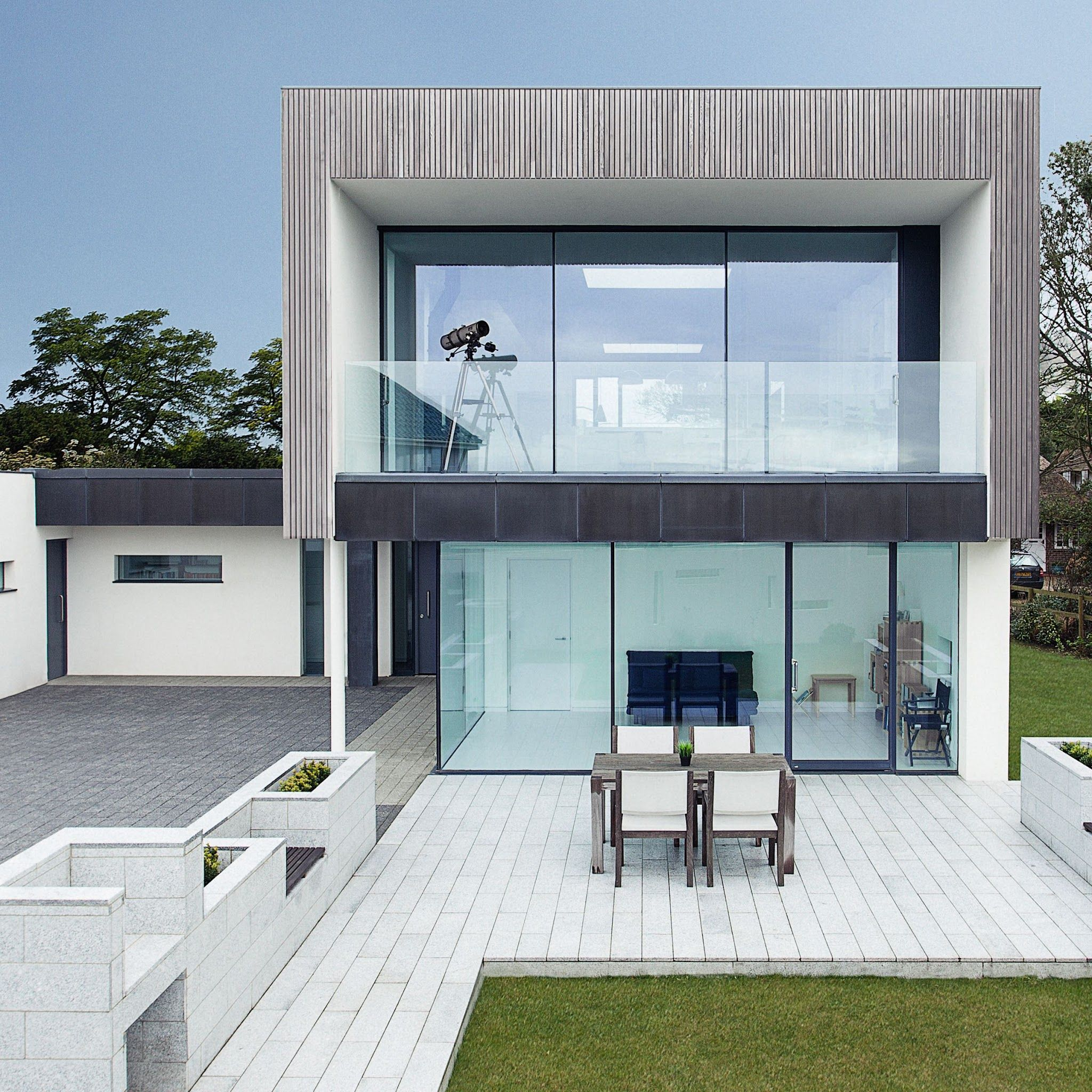 Zinc House by OB Architecture | •Haus | Pinterest | Moderne häuser ...