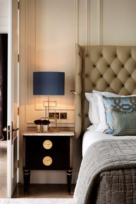 Luxury Hotel Bedrooms: Modern Nightstand Ideas From The Master Bedroom Collection