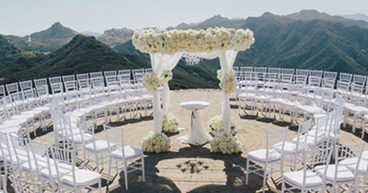 Best Wedding Venues In Southern California Malibu Rocky Oaks Brides