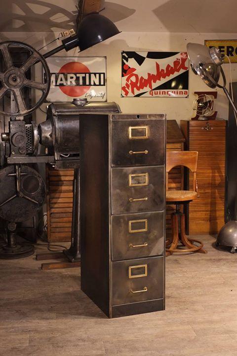 Untitled meuble industriel vintage de Renaud Jaylac Pinterest