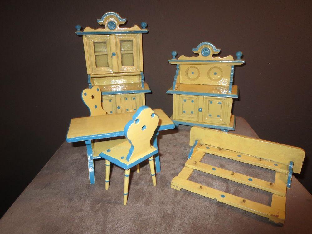 Antike wohnzimmermöbel ~ Antike moritz gottschalk mÖbel um puppenkÜche puppenstube