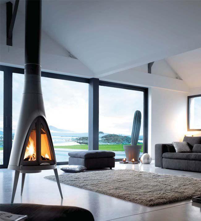 Invicta Tipi Woodburning Stove Freestanding Fireplace Hanging Fireplace Modern Fireplace