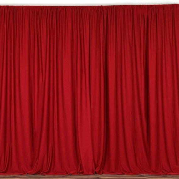lovemyfabric 100% polyester curtains are affordable choice to decorate your window. These drapes also make a perfect choice for backdrops at weddings, trade shows, birthday parties, photo booths, showrooms, theaters, or anywhere you desire to add a touch of class. Transforming space and location into a completely different environment without resorting to expensive methods is easy to do with these lovemyfabric polyester curtain/backdrops.Each curtain is 58 inch wide and 120 Inch long (Approx 5ft