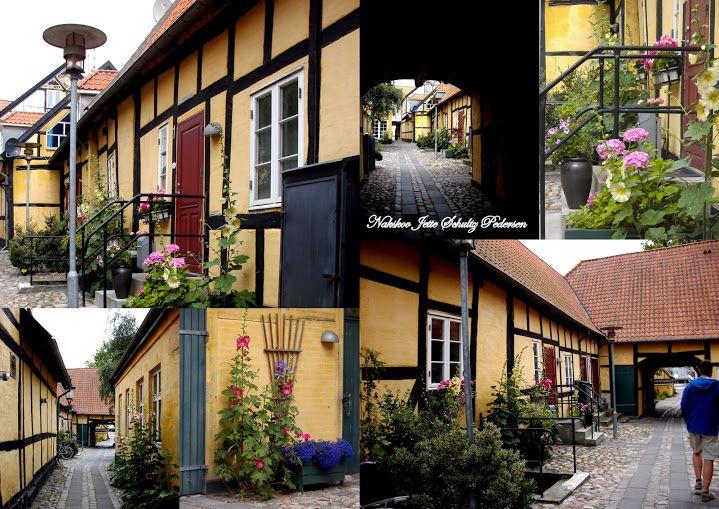Nakskov  danmark Colage lavet af Jette Schultz Pedersen billeder jeg har samlet i årenes løb  selv taget med Camera og fra nettet