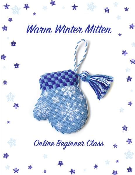 Warm Winter Mitten: Online Class