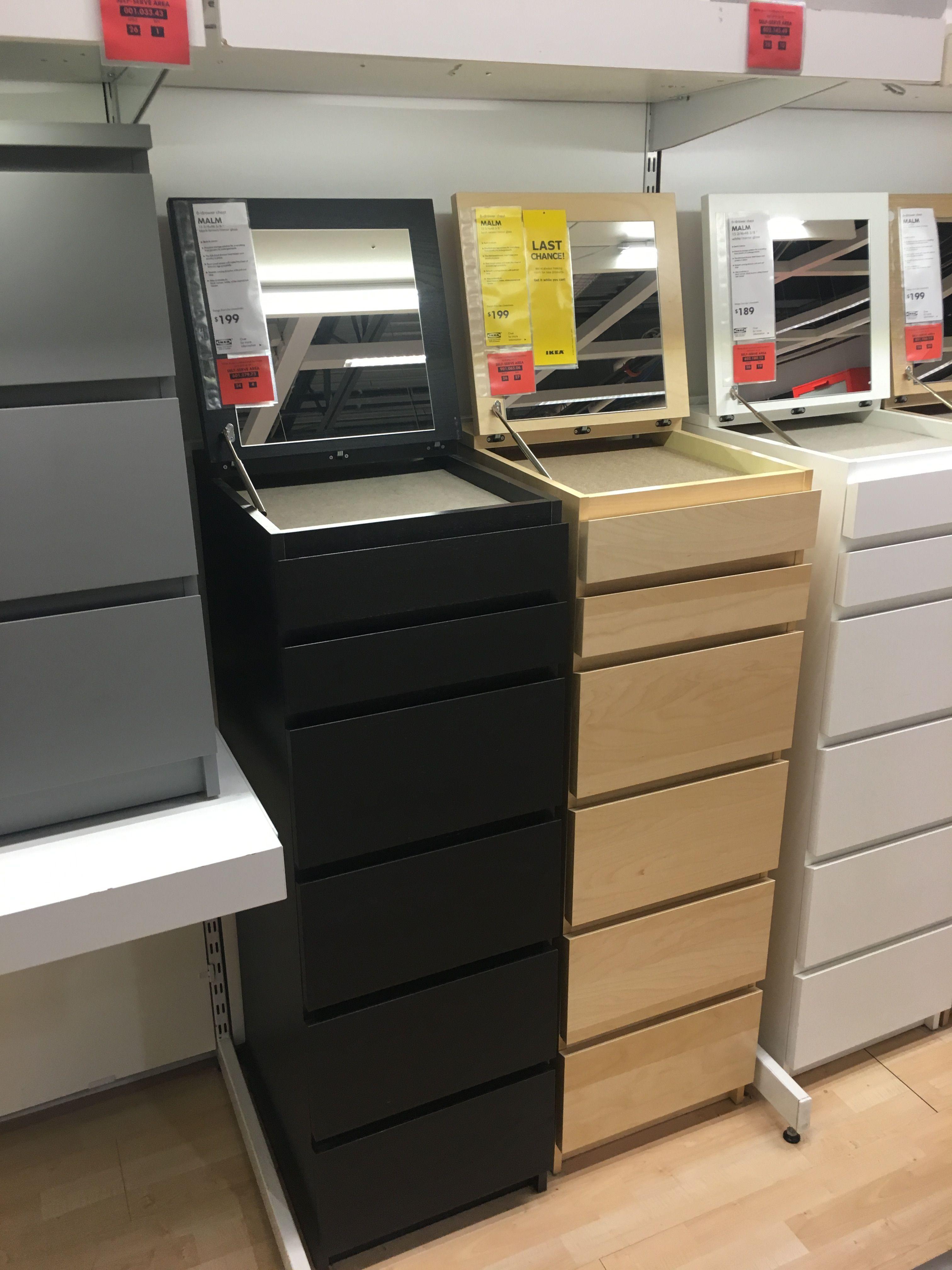Best Ikea Malm 6 Drawer Chest 15 3 4X48 3 4 Black Brown 640 x 480