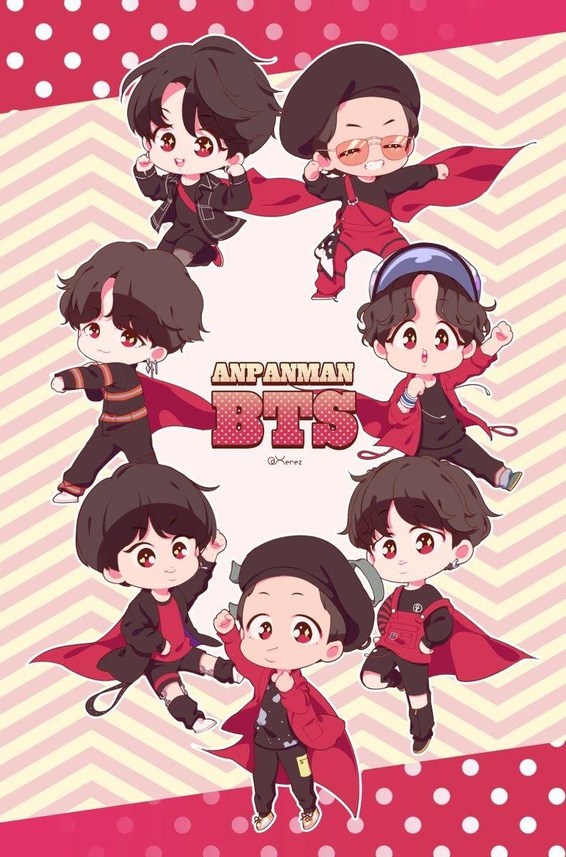 Pin de leatitia en fanarts de BTS BT21 Exo fanart, Kpop