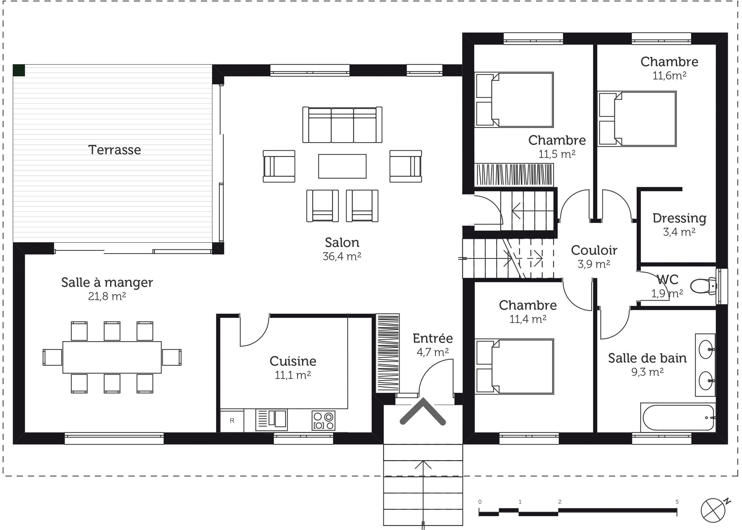 Plan De Maison Sans Sous Sol Sur Slab Ou 3 2