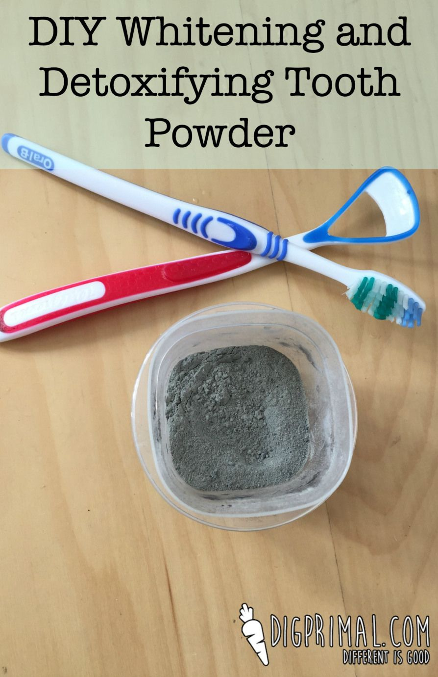DIY Whitening and Detoxifying Tooth Powder  Au Naturale Beauty