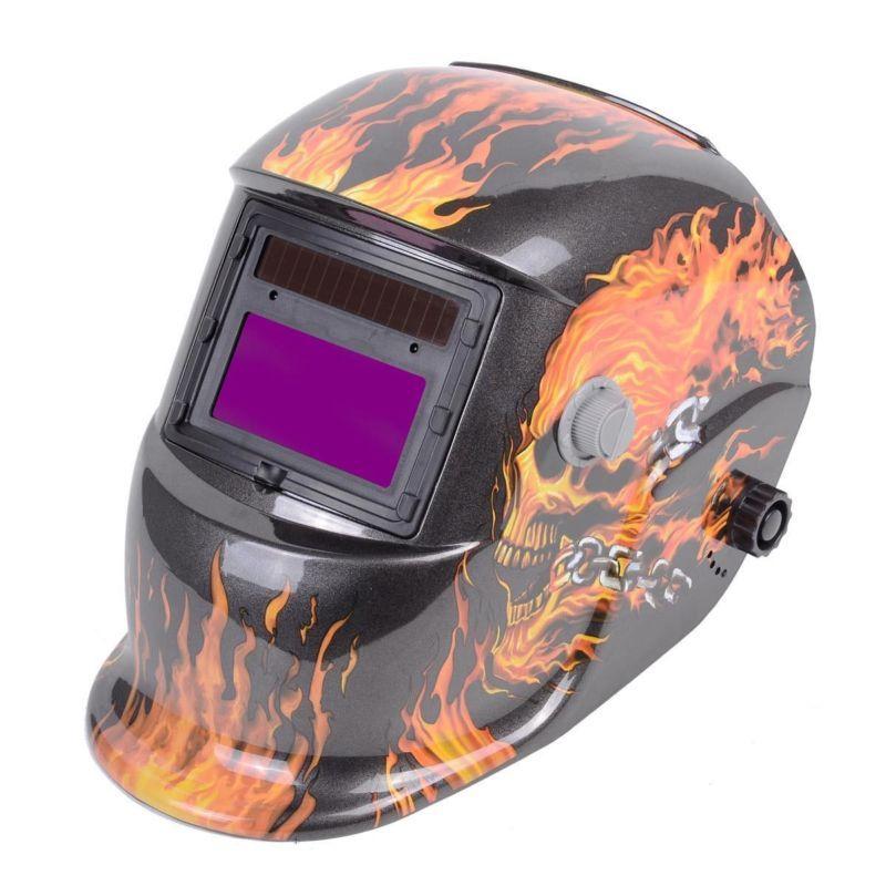 Pro Adjustable Solar Powered Auto Darkening Solar Welders Welding Helmet Mask Forest Camo Welding Helmets Welding & Soldering Supplies