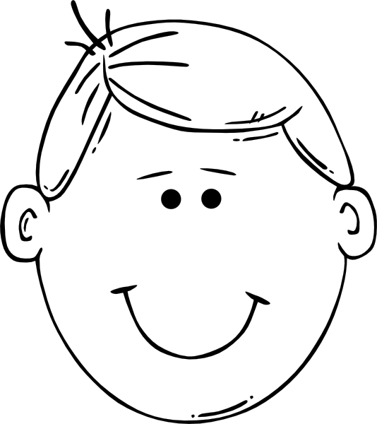 Boy Head Coloring Pages Skull Coloring Pages Coloring Pages Face Outline