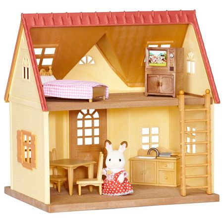 Calico Critters Cozy Cottage Starter Set By International Playthings 49 95 Cozy Cottage Starter Home Calico Critters Families